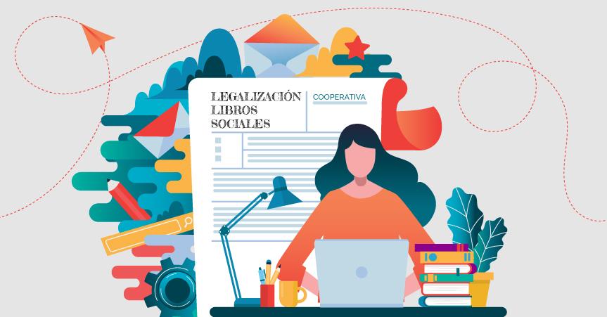 Legalización de libros sociales de las cooperativas