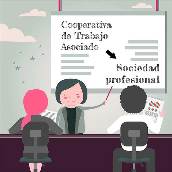 cta a sociedad profesional